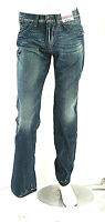 Jeans Uomo Pantaloni ENERGIE B922 Gamba Dritta Blu Tg 33