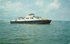 Daytona Queen Luxury Excursion Yacht Daytona Beach Florida FL Postcard