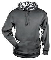 Badger Men's Polyester Long Sleeve Pouch Pocket Winter Pullover Hooded. 1469