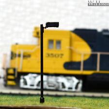 8 Stück LED Hoflampe  Modell Laternenpfahl Spur HO/OO Modellbau #047
