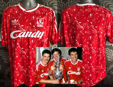 Retro Liverpool Home Shirt 1989-90 Size Large L - BNWT - UK Seller Candy Jersey