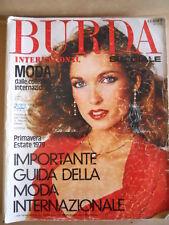 BURDA INTERNATIONAL  Speciale Primavera Estate 1979  [M6]