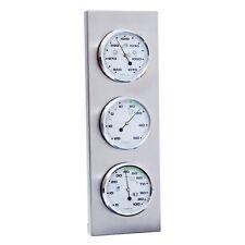 Sunartis THB197 Wetterstation mit Barometer, Hygrometer und Thermometer - Edelstahl