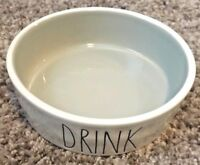 """NEW! """"DRINK"""" with Grey Inside Rae Dunn Bowl"""