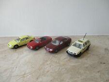 Konvolut alte SIKU Modellautos Audi 0841,1079,1086,1092