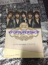 SS501 1st Concert DVD - STEP UP DVD Great Condition Kim Hyun Joong