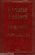 LIBRO=LA RABBIA E L'ORGOGLIO=ORIANA FALLACI=IV°EDIZIONE DICEMBRE 2001