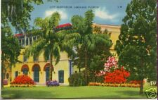 City Auditorium LAKELAND Florida ~ LINEN