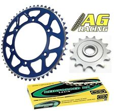 Yamaha YZ 125 05-11 Regina 520 RH Chain Sprocket Set 12T 48T Blue