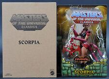 2014 Scorpia MOTU MOTUC Masters of the Universe Classics MOC