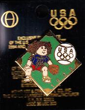 RARE PINS PIN'S .. OLYMPIQUE OLYMPIC ATLANTA 1996 BASE BALL USA ~14