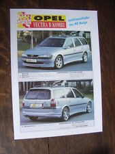 MS Design Opel Vectra B combi folleto/brochure/depliant, d/gb/F
