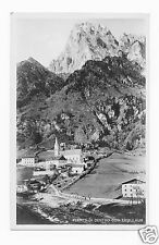 Fleres Di Dentro Con Tribulaun in Italy  RPPC  Postcard