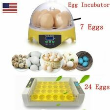 7 Eggs Turner Automatic Hatcher Egg Incubator Digital Poultry Chicken,Bird Duck~
