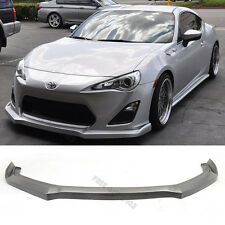 For 13-16 Scion FRS FR-S GT86 DS Style Front Bumper Lip Spoiler PU Poly Urethane