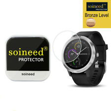 [1 Pack] SOINEED Tempered Glass Screen Protector Film For Garmin vivoactive 3