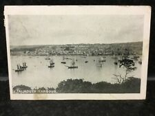 1075 Falmouth Harbour Early 20th C Postcard