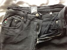 MOSCHINO Charcoal Black Stretchy Thin Jeans Size 29