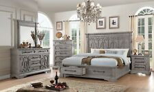 Acme Furniture Artesia Queen 6 Piece Storage Bedroom Set