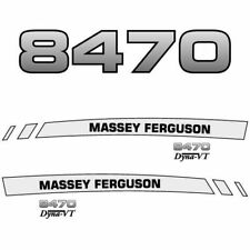 Massey Ferguson 8470 decal aufkleber adesivo sticker set