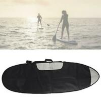 Travel Surfboard Storage Bag Black with Shoulder Strap for Shortboard Longboard