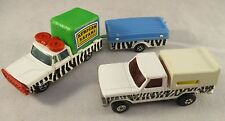 Vintage Matchbox & Majorette 1970's & 80'  Bundle - African Safari - Wildlife