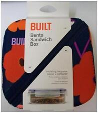New Built Bento Flower Sandwich Box Insulating Neoprene Sleeve & Container