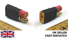 XT60 male to 5.5mm bullet/banana adaptor/connector/plug block RC LiPo Pos2Male