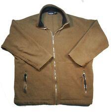 Mens VTG Patagonia Brown Fleece Full ZIP USA Jacket Sweater - L Large
