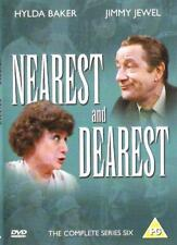 NEAREST AND DEAREST SERIES SIX 6 JIMMY JEWEL HYLDA BAKER ITV UK REGION 2 DVD NEW