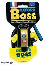 Bloque disque antivol U classé SRA OXFORD BOSS moto 50 à boite vitesse maxisco