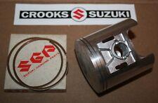 NOS Suzuki RM370 +.25mm Suzuki Piston & Ring Set, 12110-41712 & 12140-41711