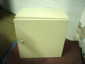 "Hoffman GSD505030GP3 20 x 20 x 12"" nema4 electrical enclosure includes sub panel"