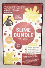 Craft City by Karina Garcia Slimy Essentials Slime Bundle (Red + Yellow)