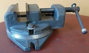 GREAT Drill Press Milling Machine Swivel 3 1/2  Vise grinder Atlas Clausing Emco