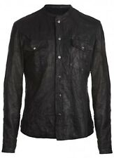 *SOLD OUT* All Saints DEMON Leather SHIRT Jacket Mckay L RRP £295 $510 *VGC*