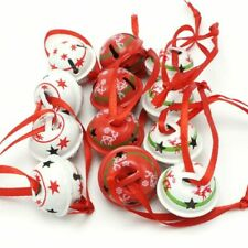 Christmas Decoration Jingle Bells Bell Ornament Holiday Sleigh Small Tree Decor