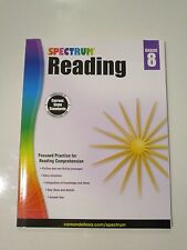 Spectrum Reading Grade 8 Like New Homeschool