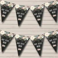 Party Banner Bunting Shabby Chic Chalk Style Personalised Engagement