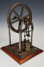 ANTIQUE EARLY 20thC. STEAM ENGINE WORKING MODEL