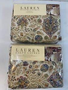Ralph Lauren Marrakesh Rug Paisley King Duvet Comforter Cover & Bedskirt New