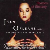 Joan Orleans Showers of blessing (1996, feat. the original USA Gospelchoir) [CD]