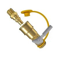 GASPRO 1/4 Inch RV Propane Quick Connect Fittings, Natural/LP Gas Propane Qui...