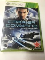 Carrier Command - Gaea Mission XBOX360 NEW FACTORY SEALED