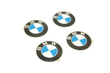 New BMW Wheel Center Cap Emblem Stickers Roundel Logo SET x4 D=70mm 36136758569