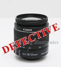 Canon EF-S 18-55mm f/3.5-5.6 IS II Zoom Lens FOR PARTS