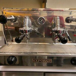 EXPOBAR EB61 Semi-Automatic 2 Group Commercial Espresso Machine