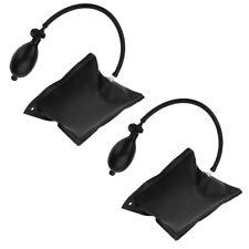 2x Car Door Window Open Air Bag Pump Wedge Pad Entry Inflatable Shim Repair Tool