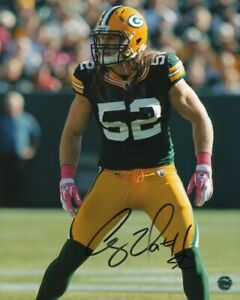 Clay Matthews III Signed Photo Football NFL Outside Linebacker Green Bay Packers