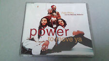 "ZIGGY MARLEY AND THE MELODY MAKERS ""POWER TO MOVE YA"" CD SINGLE 4 TRACKS"